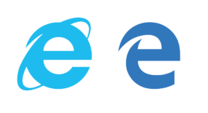 internet-explorer-vs-microsoft-edge-similar-logo
