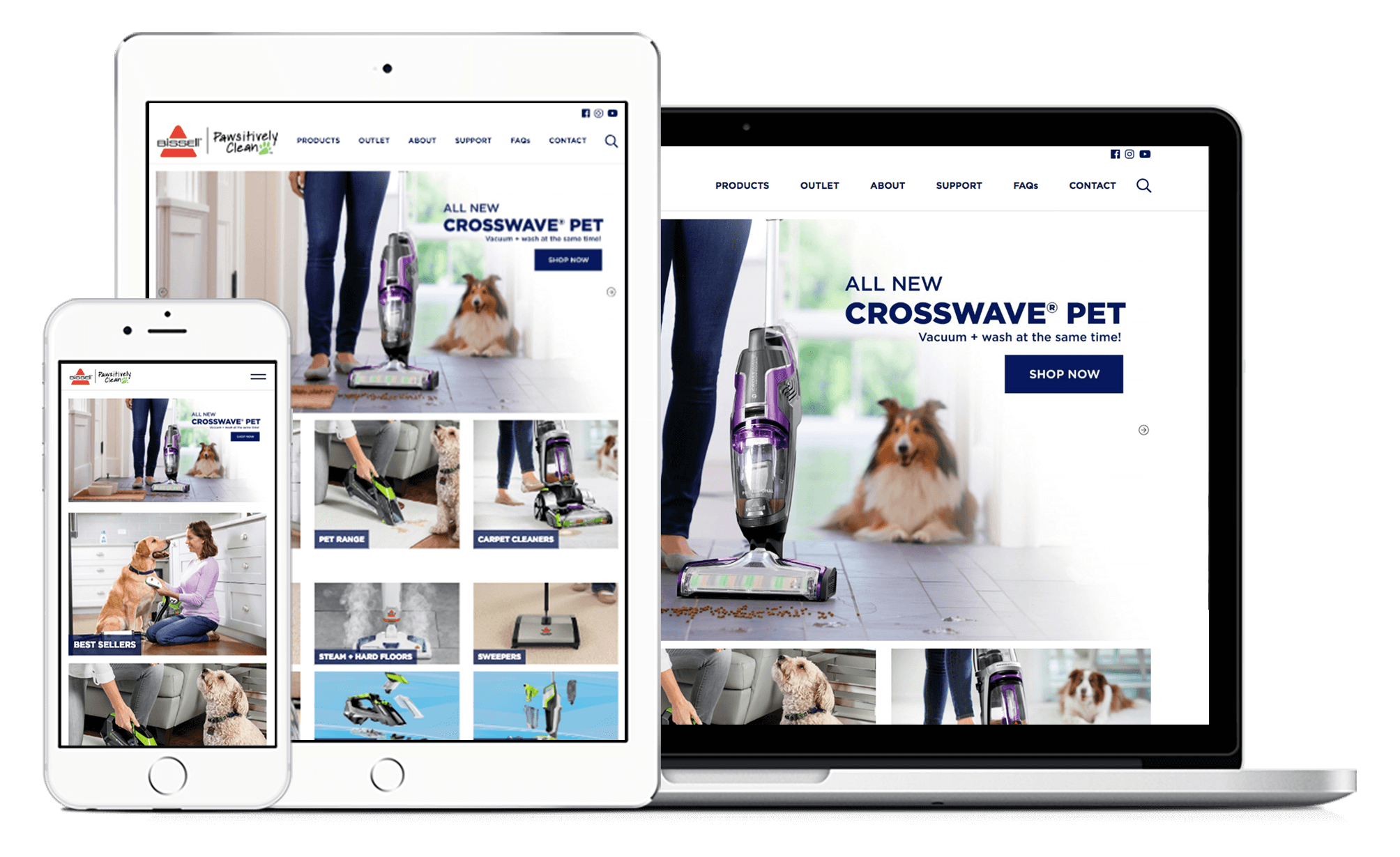 BISSELL Australia WordPress Woocommerce Website