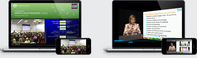 Webtron Webcast - Multi-format webcasting options